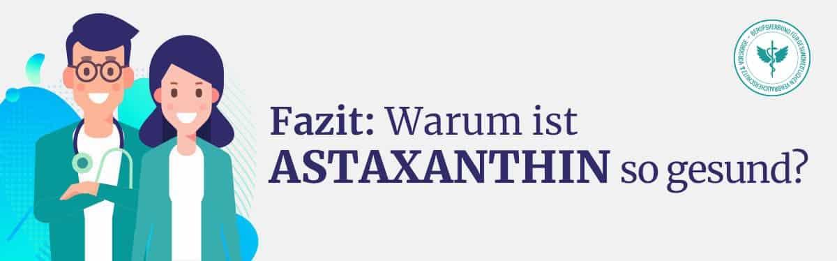 Astaxanthin Fazit