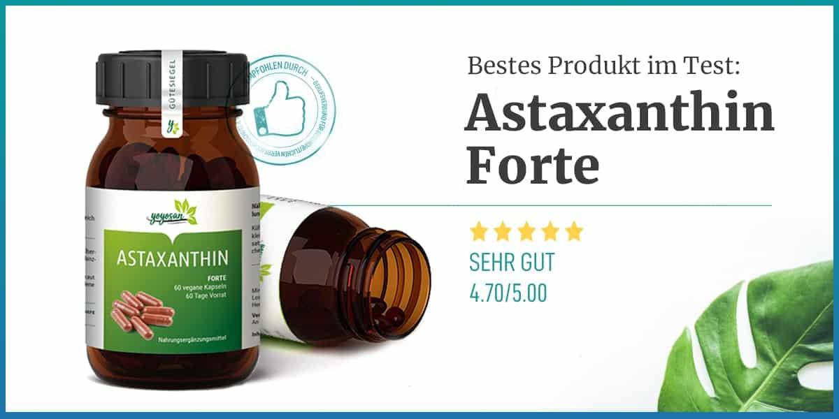 Astaxanthin Empfehlung