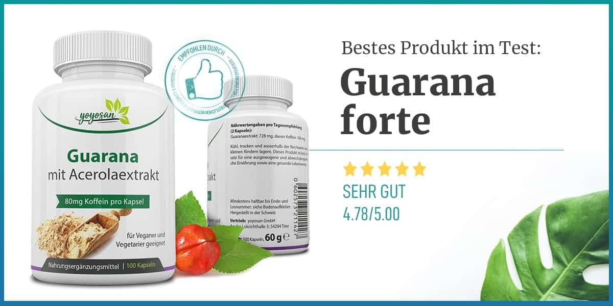 Empfehlung Guarana