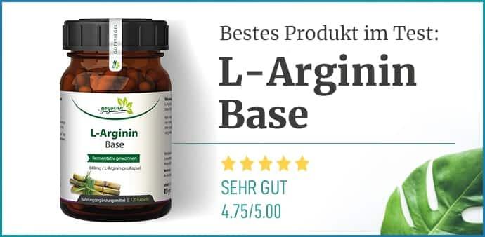 Empfehlung L-Arginin
