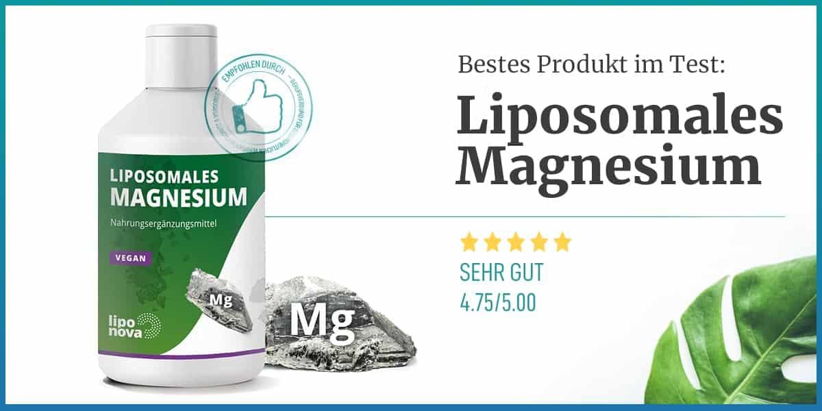Empfehlung Liposomales Magnesium