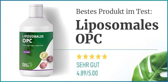 Liposomale OPC Empfehlung