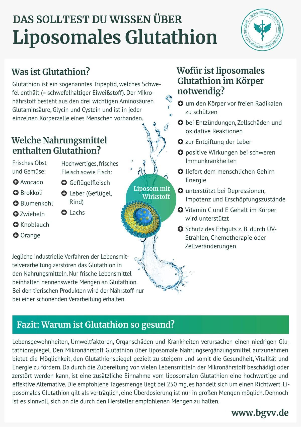 BGVV infografik Liposomales Glutathion