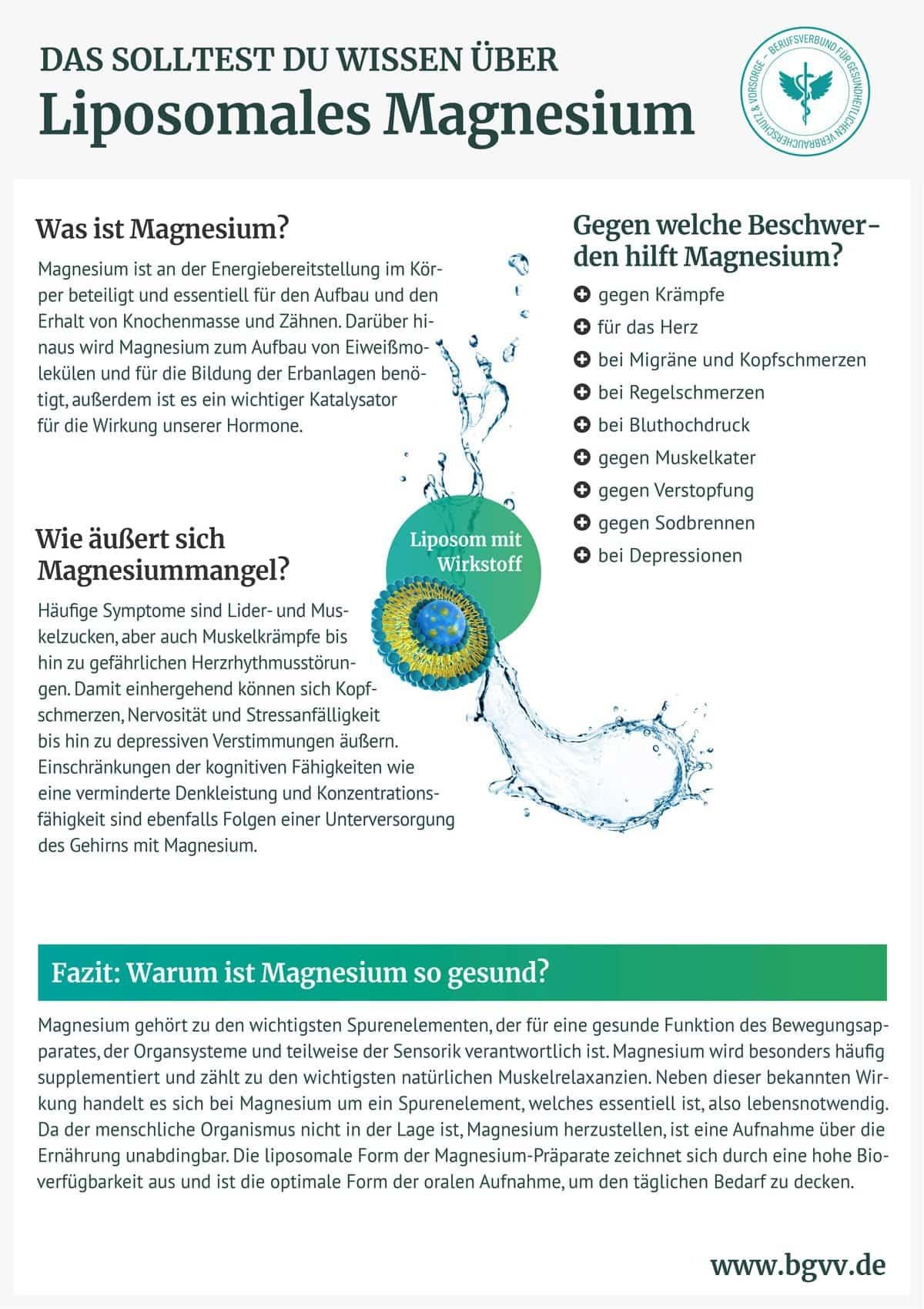 BGVV infografik Liposomales Magnesium