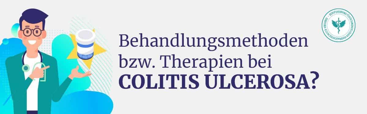 Behandlung Therapie Colitis Ulcerosa