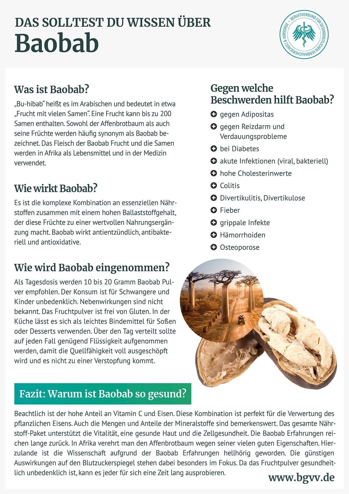 Infografik Baobab bgvv
