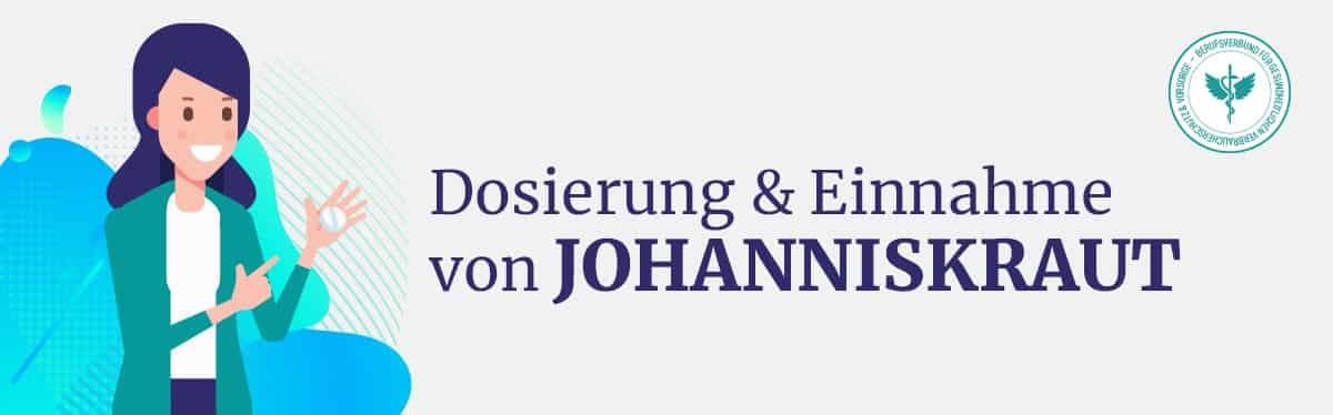 Dosierung und Einnahme Johanniskraut