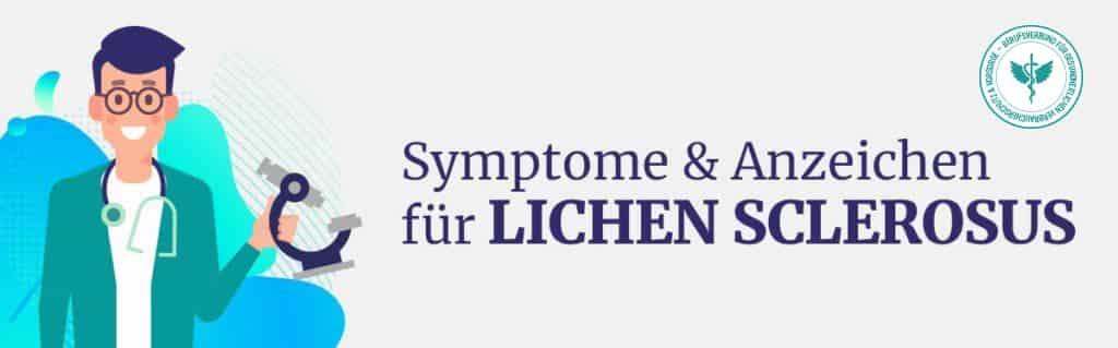Symptome Lichen Sclerosus