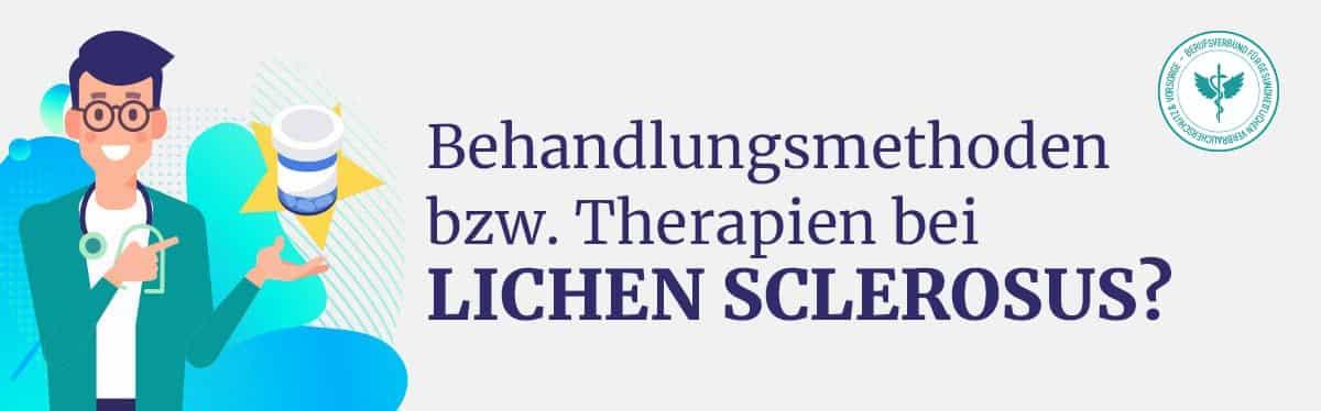 Behandlung Therapie Lichen Sclerosus