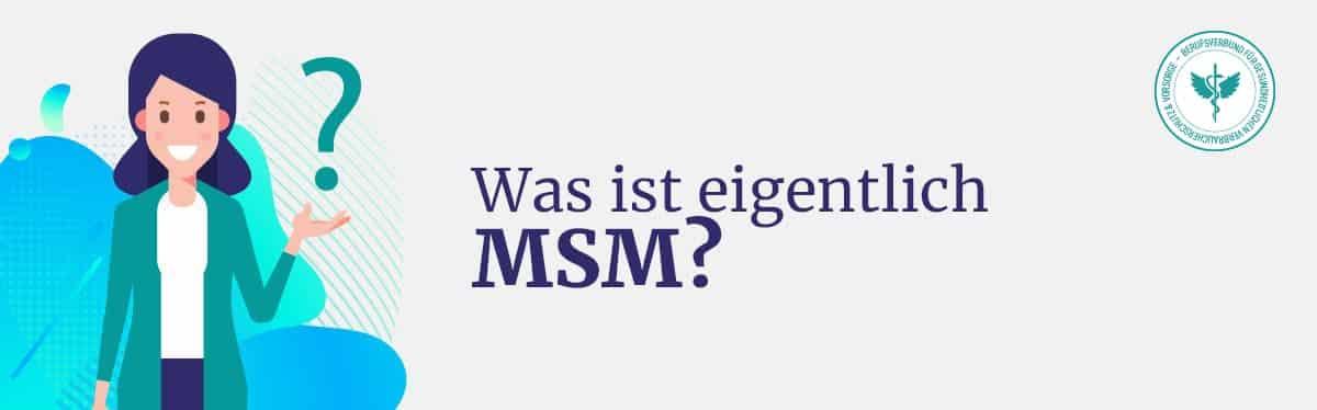 Was ist MSM