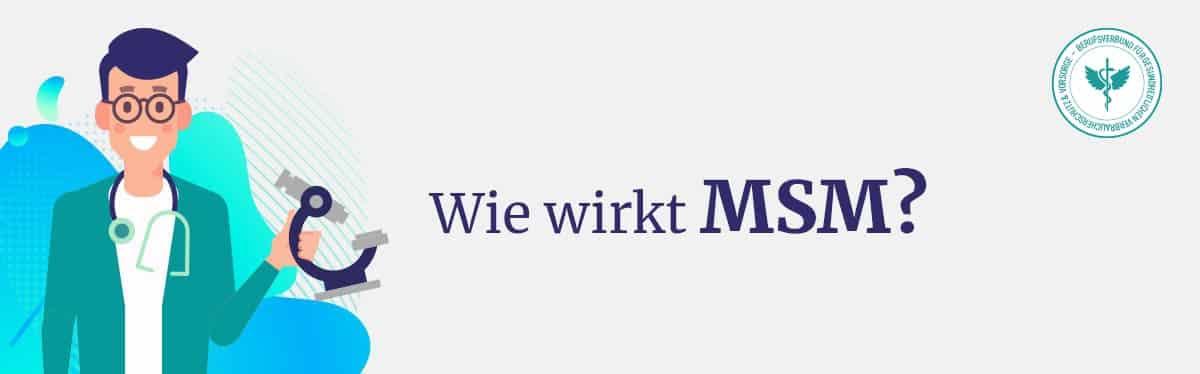 Wie wirkt MSM