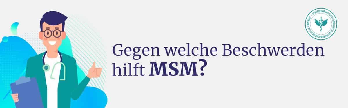 Hilft MSM