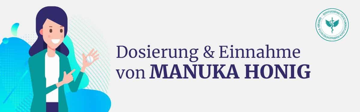 Dosierung und Einnahme Manuka Honig