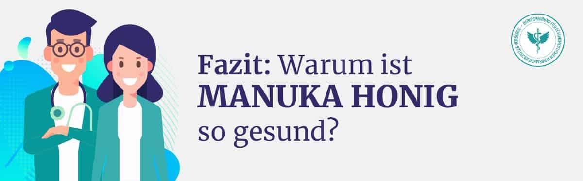 Fazit Manuka Honig