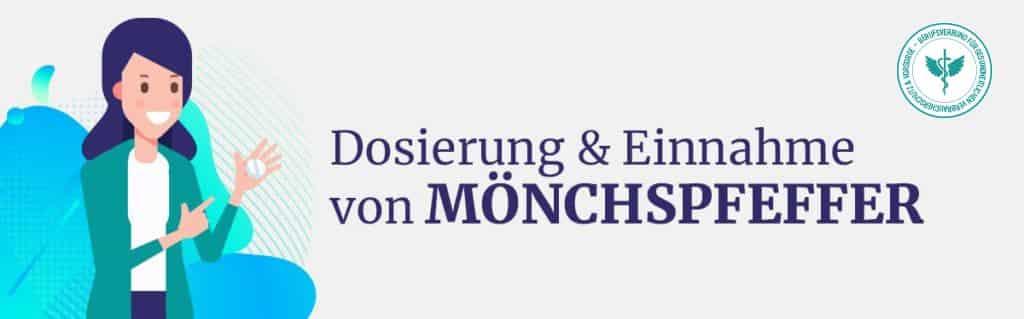 Dosierung und Einnahme Mönchspfeffer
