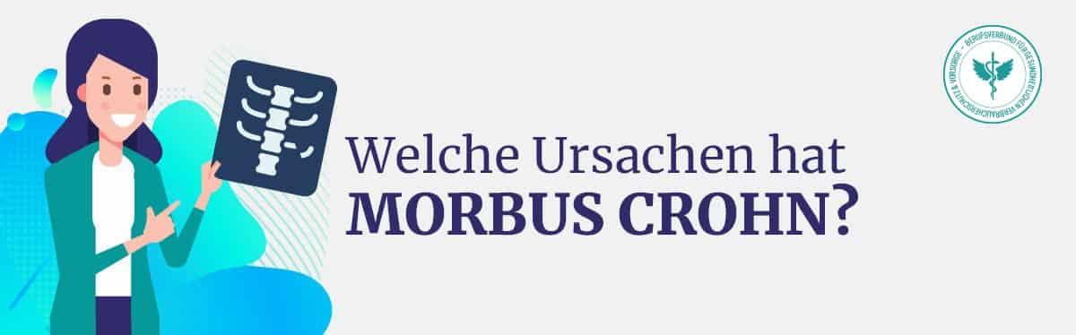 Ursache Morbus Crohn
