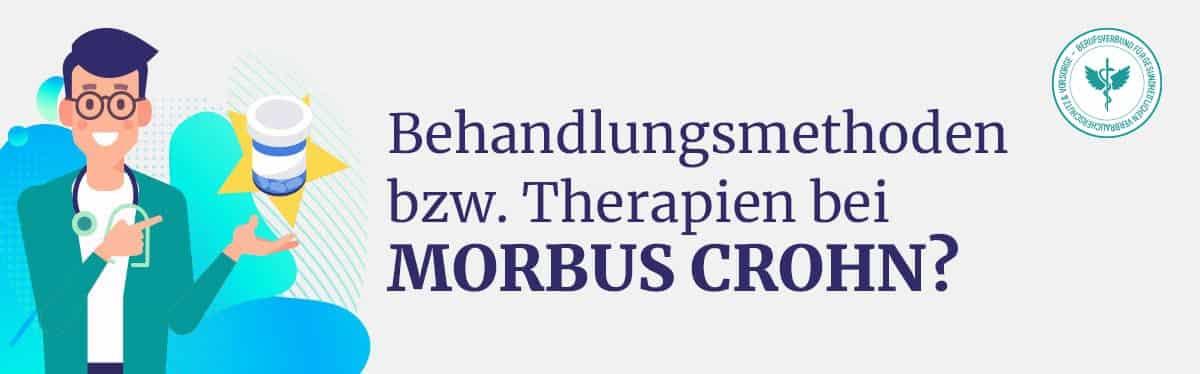Behandlung Therapie Morbus Crohn