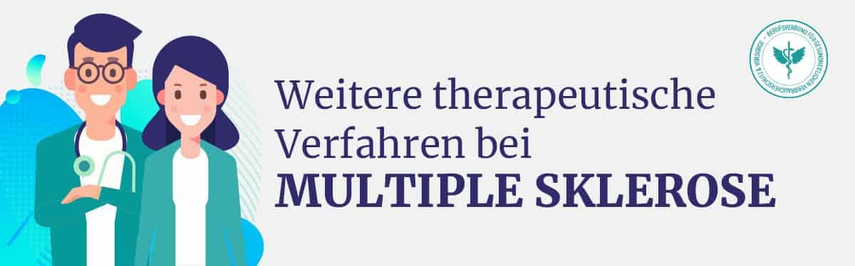 Multiple Sklerose weiter therapeutische Verfahren