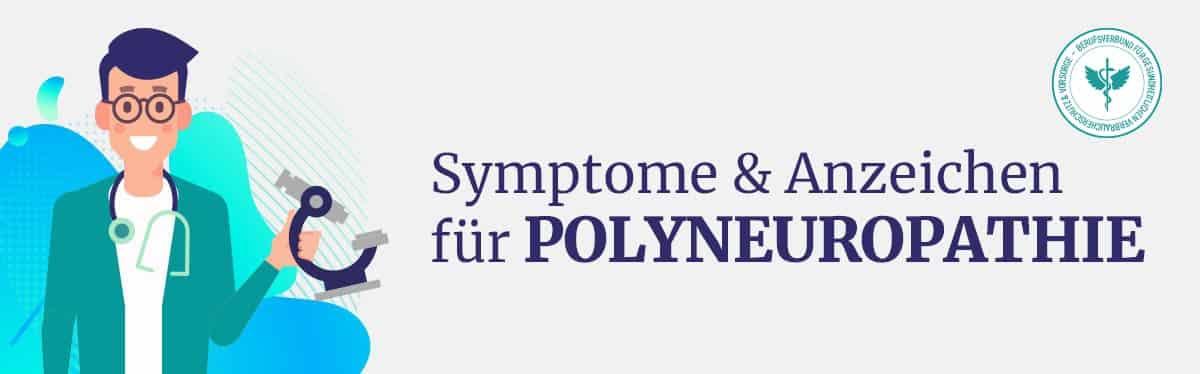 Symptome Polyneuropathie