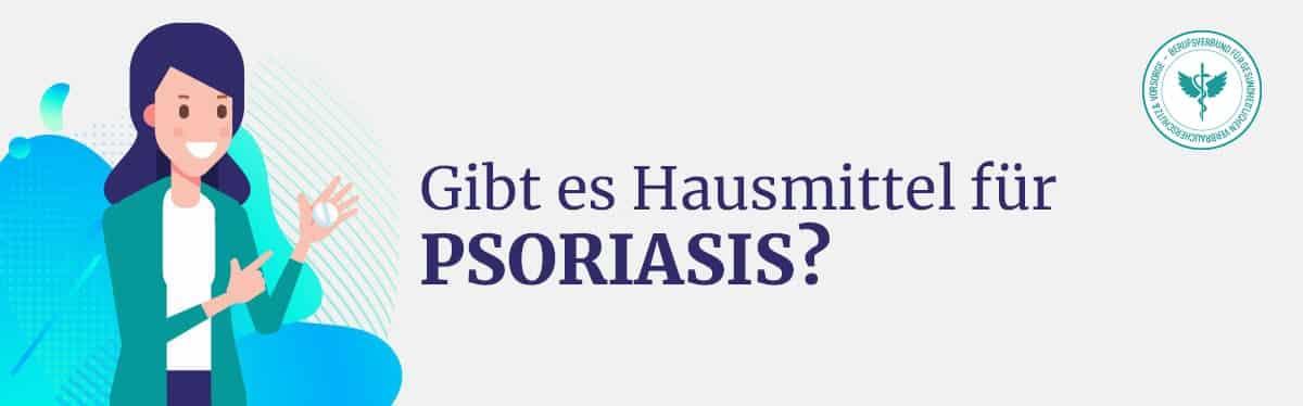 Hausmittel Psoriasis