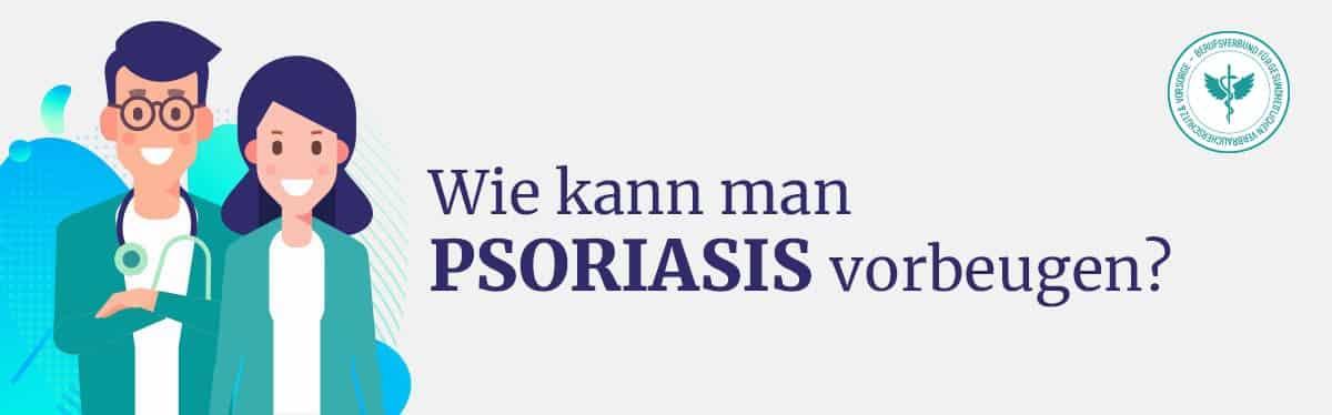 Psoriasis vorbeugen