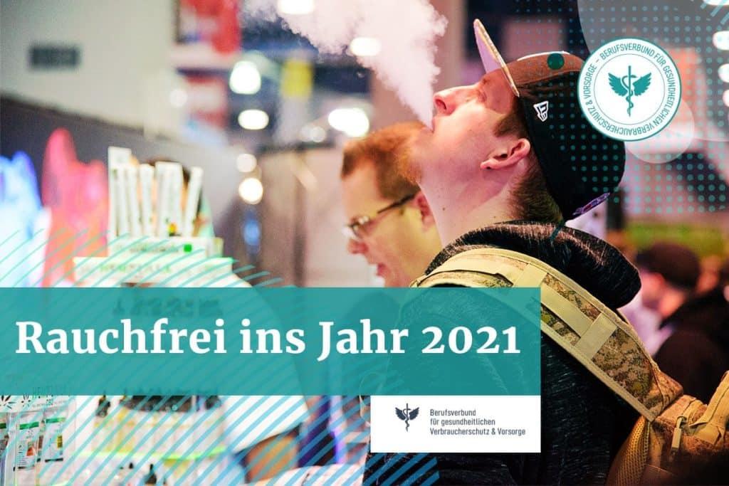 Rauchfrei ins Jahr 2021