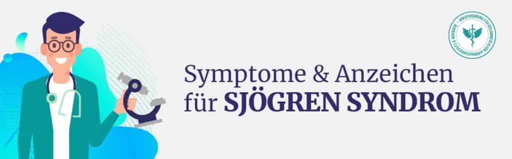 Symtome Sjögren Syndrom