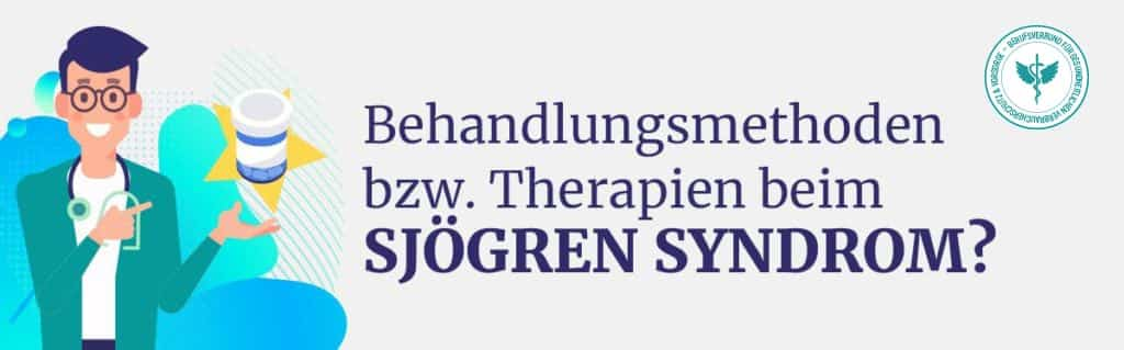 Behandlung Therapien Sjögren Syndrom