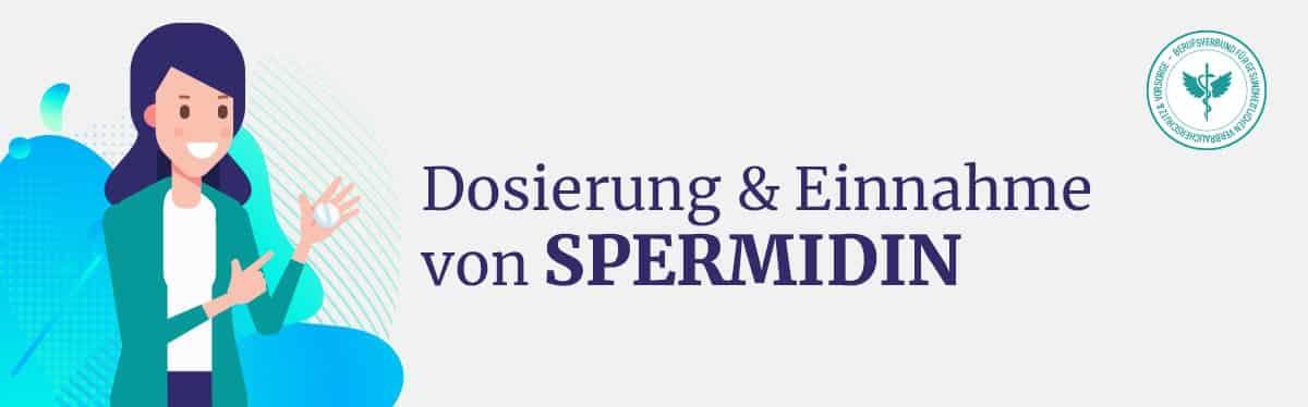 Dosierung und Einnahme Spermidin