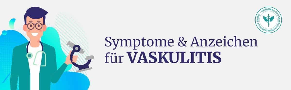 Symptome Vaskulitis