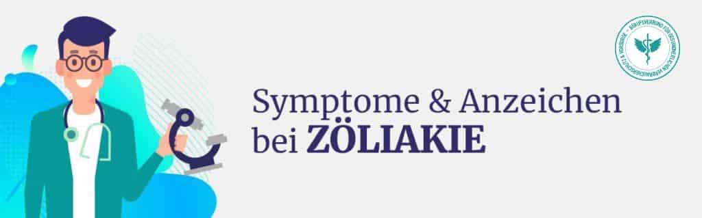 Symptome Zöliakie