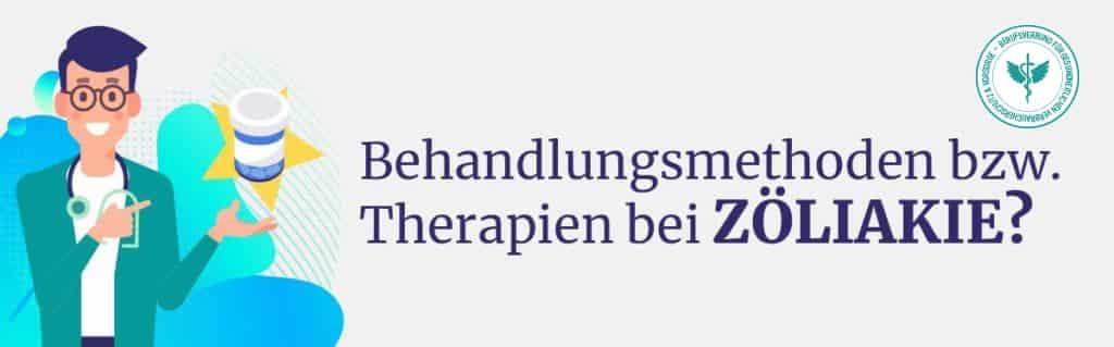 Behandlung Therapie Zöliakie
