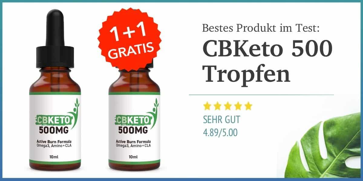 CBKeto 500mg Tropfen Erfahrungen