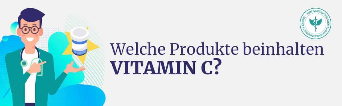 Produkt mit Vitamin C